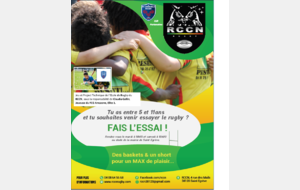 Inscription - Essai Rugby RCCN